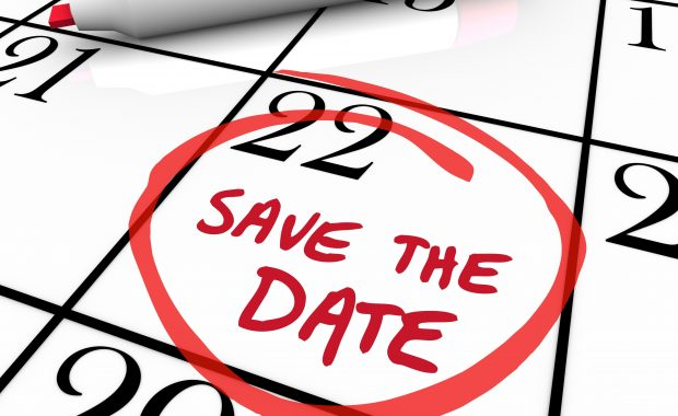 Save the date hero