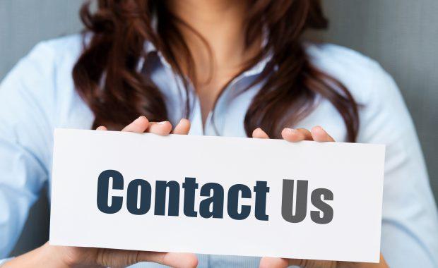 Contact Us hero