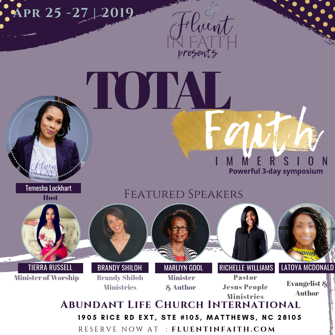 Fluent in Faith Flyer